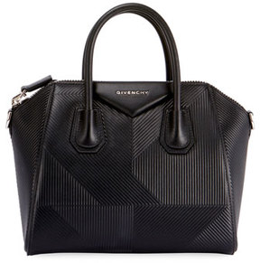 Givenchy Antigona Small Embossed Leather Satchel Bag