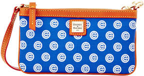 Dooney & Bourke Chicago Cubs Large Slim Wristlet - ROYALBLUE/RED - STYLE