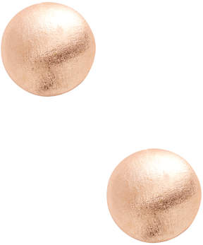 Rivka Friedman Women's 18K Gold Button Earrings