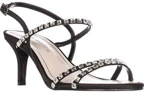 Caparros Christine Rhinestone Strappy Sandals, Black.