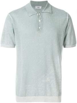 Closed short-sleeve polo shirt