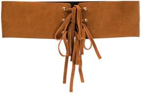 Twin-Set lace-up belt