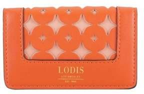 Lodis Women's Laguna Perforated Rfid Mini Card Case.