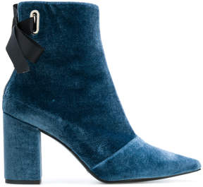 Robert Clergerie velvet ankle boots