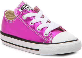 Converse Girls Chuck Taylor All Star Metallic Infant & Toddler Sneaker