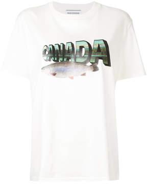 CITYSHOP Canada print T-shirt