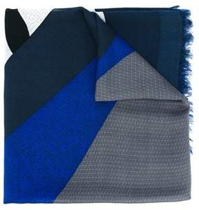 Fendi Men's Multicolor Silk Scarf.