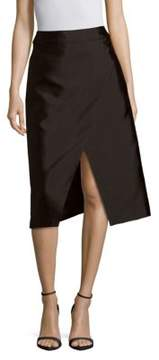 C/Meo Solid A-Line Skirt