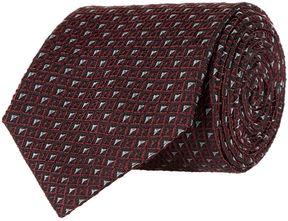 Pal Zileri Triangle Print Tie