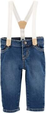 Osh Kosh Oshkosh Bgosh Baby Suspender Jeans
