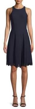 Donna Ricco Sleeveless Fit-&-Flare Dress