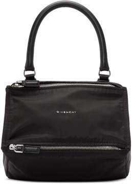Givenchy Black Nylon Small Pandora Bag