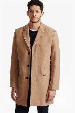French Connection Marine Melton Tailored Coat