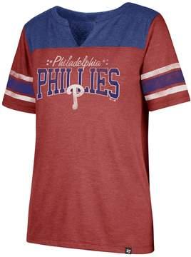 '47 Women's Philadelphia Phillies Match Tri-Blend Tee