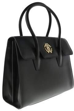 Roberto Cavalli Fqb915 Pz132 5051 Black Shoulder Bag