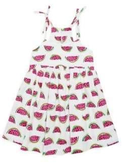 Milly Minis Toddler's, Little Girl's& Girl's Watermelon-Print Tank Dress