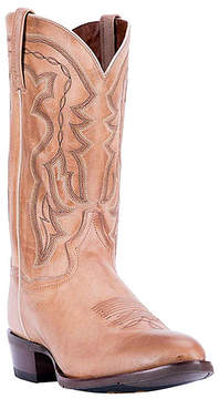 Dan Post Tan Embroidered Wing Leather Cowboy Boot - Women
