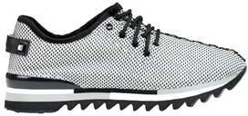Apepazza Women's Black Fabric Sneakers.
