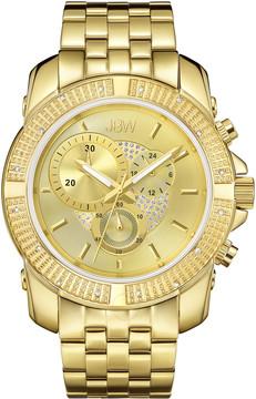 JBW Warren Chronograph Dial Diamond Bezel Men's Watch