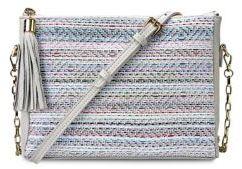 GiGi New York Hailey Tasseled Crossbody Bag