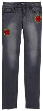 Hudson Girl's Storm Embroidered Skinny Jeans