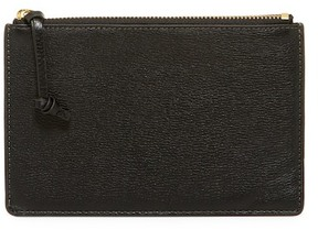 Fossil RFID Small Leather Zip Pouch Bag