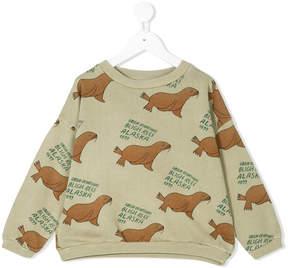 Bobo Choses sea lion print sweatshirt