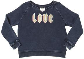 Zadig & Voltaire Bleached Embroidered Cotton Sweatshirt