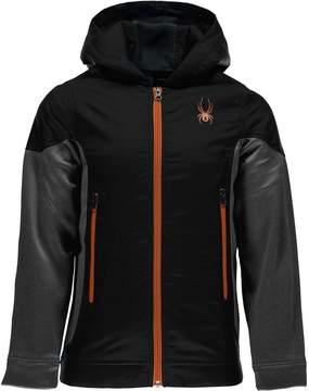 Spyder Hybrid Hooded Fleece Jacket - Boys'