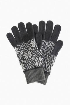 Barbour Fairisle Lambswool Gloves