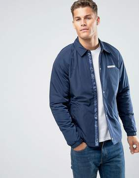 Hollister Coach Jacket in Navy