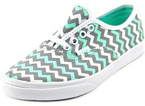 Vans Authentic Lo Pro Youth Round Toe Canvas Multi Color Sneakers.