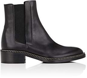 Barneys New York Women's Chain-Embellished Leather Chelsea Boots
