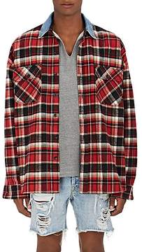 Fear Of God Men's Plaid Cotton Flannel Oversized Shirt