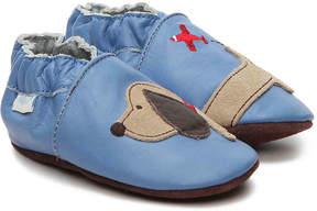 Robeez Boys Dachshund Infant & Toddler Slip-On Crib Shoe