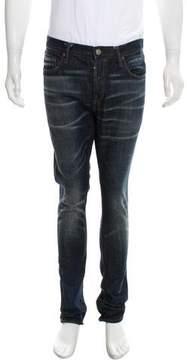 AllSaints Cropped Five Pocket Skinny Jeans