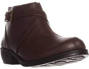 Easy Street Shoes Shannon Ankle Booties, Black.