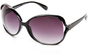 Tommy Hilfiger Black Estella XL Oval Sunglasses