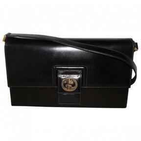 Gucci 1973 Leather Handbag - BLACK - STYLE
