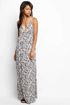 Ark & Co Strappy Multi Print Maxi Dress
