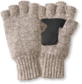 L.L. Bean Ragg Wool Fingerless Gloves