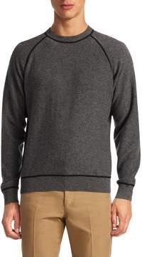 Luciano Barbera Men's Active Cashmere Crewneck Sweater