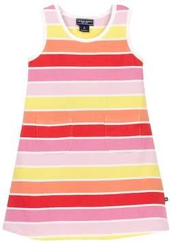 Toobydoo Sun Stripe Tank Dress (Baby, Toddler, & Little Girls)