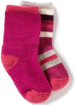 Smartwool Baby Girls Sock Sampler 2-Pack