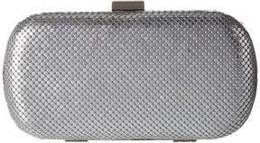 Jessica McClintock Emme Mesh Minaudiere Clutch Handbags