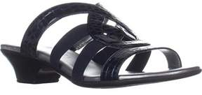 Karen Scott Womens Emmee Open Toe Casual Slide Sandals.