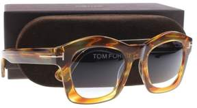 Tom Ford FT0431 Sunglasses Yellow/other / Gradient Blue