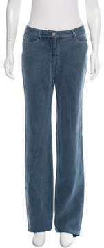 Celine Mid-Rise Flared Jeans