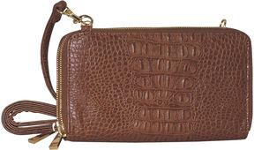 ADRIENNE LANDAU Adrienne Landau Double Zip Crossbody Bag