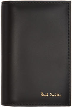 Paul Smith Black Color Band Multi Card Holder